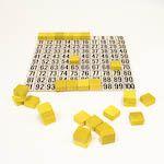 Číselná síť 1 - 100 s 30 kameny1