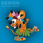 Dekorace Myši 3