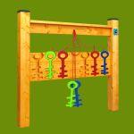 Hra - Barevné klíče