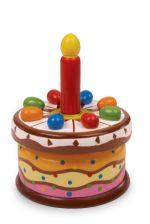 Hrací narozeninový dort
