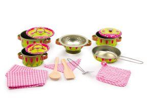 Plechové nádobí