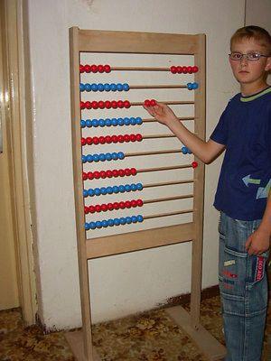 Počítadlo kuličkové 1 - 100