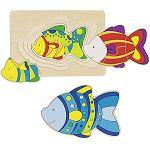 Puzzle vrstvené ryba