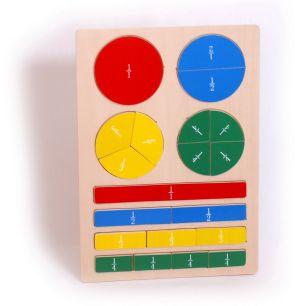 Puzzle - zlomky