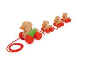 Tahací kachní rodinka