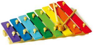 Xylofon - barevný
