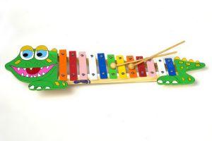 Xylofon - krokodýl