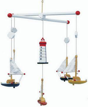 Závěsný kolotoč plachetnice